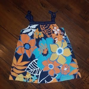 Gymboree girls Tropical Floral Dress 6-12 mos